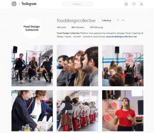 Food Design Collective Instagram