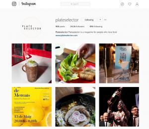 Plateselector Instagram