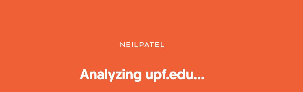 Análisis de la Herramienta de Auditoría SEO de Neil Patel