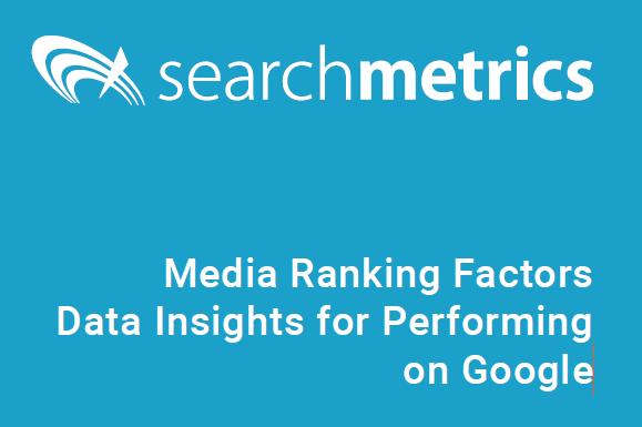 Factores de posicionamiento: informe de Searchmetrics